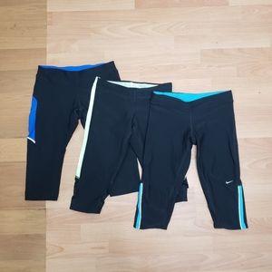 Nike Filament Dri-Fit Leggings Bundle Size S/M